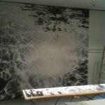 Kreative Wand-Arbeit